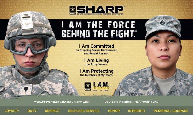 Sexual harassment at lackland air force base