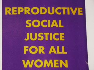 Reproductive Social Justice for All Women