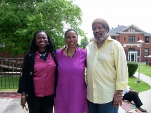 Gwendolyn Zoharah Simmons, Aishah, & Michael Simmons