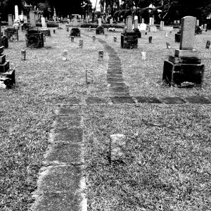 Singapore Japanese Cemetery: Nearly 200 Women are Buried. Average Age of Death: 21.6 years old (Photo by author)