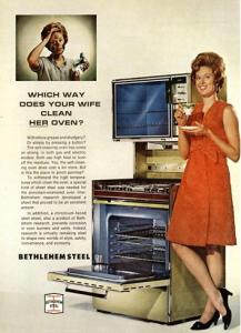 50s ad - oven