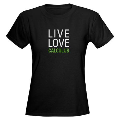live_love_calculus_womens_dark_tshirt