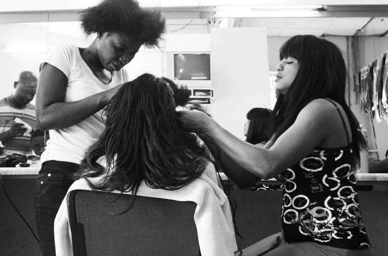 Hair salon, JohannesburgUviwe Mangweni