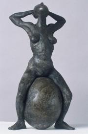 Barbara Lubliner, Egg Rider, 2001, Brooklyn Museum.