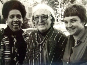 Audre Lorde, Meridel Le Sueur, and Adrienne Rich (1980)