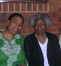 Aishah & Nana (Juanita Cranford Robinson Watson)