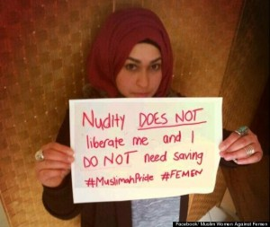 Photo Credit: Muslim Women Against Femen