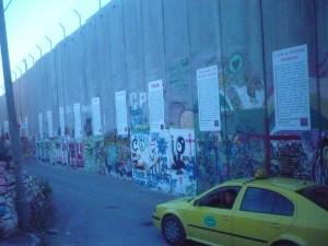 The Apartheid Wall in Bethlehem