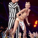 big foam finger, miley's racism, racism and miley cyrus