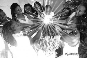 """""""A Care Package for Tiana: Locs of Love"""" [photo credit: ZIA Photography]"""