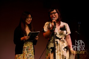 M. Rhee and C. Chan by Lydia Daniller