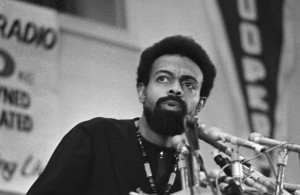 Amiri Baraka at the Black Political Convention in Gary, IN in 1972. (AP Photo/Julian C. Wilson)