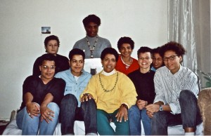 Audre Lorde and Gloria Joseph with a collective of Black Germans Image Credit: © Dagmar Shultz