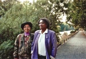 Audre Lorde & Gloria Joseph copyright: Dagmar Schultz