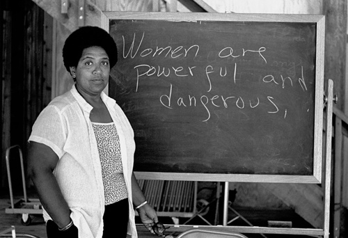Image result for audre lorde womanist feminist
