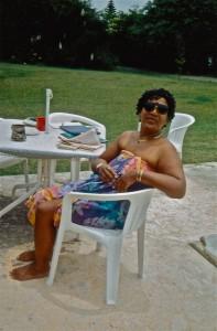 Audre Lorde in St. Croix copyright: Dagmar Schultz