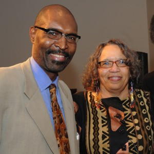 Rudolph P. Byrd and Beverly Guy-Sheftall © Susan J Ross www.photogriot.com