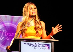 Laverne Cox, Creating Change 2014