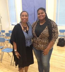 Aishah Shahidah Simmons and Jamion Allen