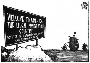 Welcome to America the Illegal Immigration Country