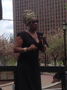 Tarana Burke, Just Be, Inc., and Organizer of Rock A Gele for Our Girls