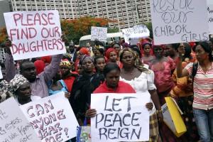 Million woman march in Abuja, Nigeria