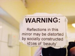 Beauty Reflection Warning