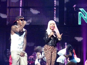 Li'l Wayne and Nicki Minaj