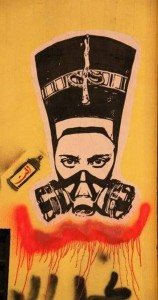 egypt-mural by el zeft