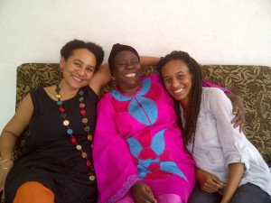 Prof. Amina Mama with African feminists Awa Fall Diop and Hakima Abbas, 2013