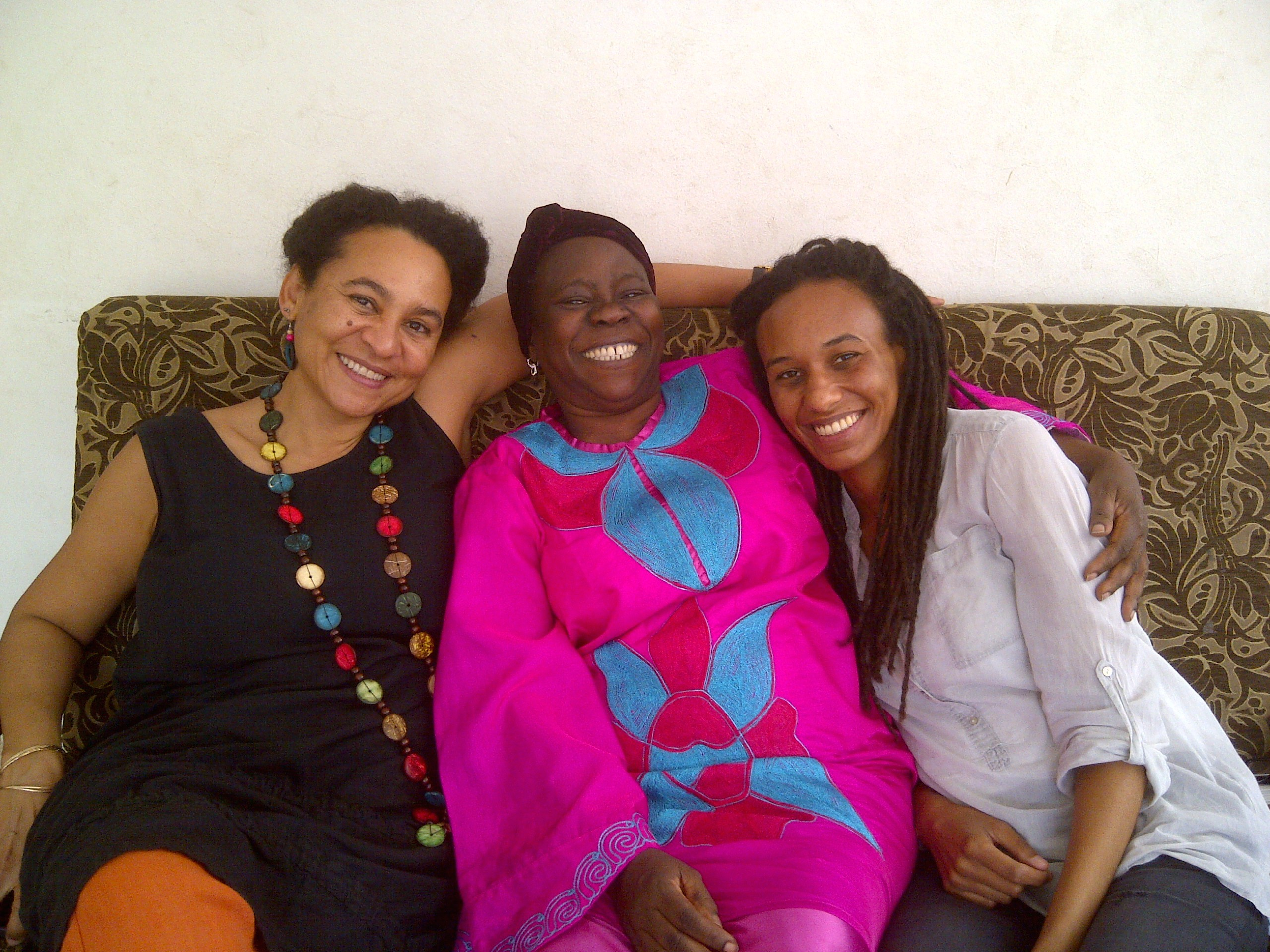 feminists we love professor amina mama the feminist wire amina mama african feminists awa fall diop and hakima abbas 2013