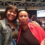 Heidi R. Lewis and Aishah Shahidah SImmons, NWSA 2014 photograph: Tracy Fisher