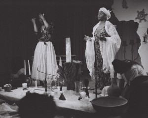 """A State of Rage"" -Jacquelin Thompson, Lois Moses, Bridget Jones Photographer: Wadia L. Gardiner Courtesy: AfroLez® Productions"