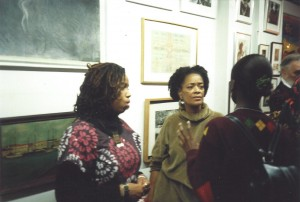Aishah Shahidah Simmons, Toni Cade Bambara, and Kim Hinckson, 1994 courtesy: © AfroLez® Productions