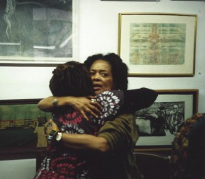 Aishah Shahidah Simmons and Toni Cade Bambara at the Hatch-Billops Collection photograph: ©Michael Simmons, 1994