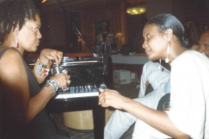 Toni Cade Bambara and Amina Baraka  Nat'l Black Arts Festival 1994 credit/copyright: Michael Simmons