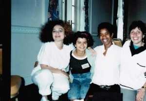 Far right are Sande Smith and Bia Vieira courtesy: ©Bia Vieira