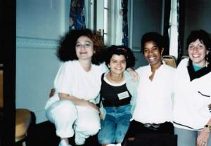Far right are Sande Smith and Bia Vieira courtesy: ©Bia Vieira