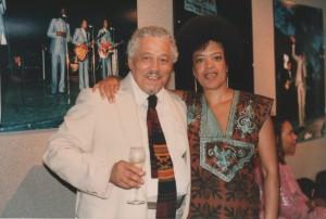 Dr Hubert Ross and Toni Cade Bambara at NBAF, 1988 ©Susan J. Ross