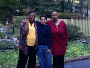 Linda Janet Holmes, Sonali Gulati,  and Aishah Shahidah Simmons photographer: Geeta Jhaveri ©AfroLez® Productions
