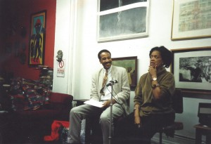 Louis Massiah and Toni Cade Bambara, Hatch-Billops Collection photograph: © Michael Simmons, 1994