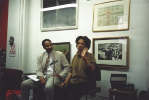 Louis Massiah and Toni Cade Bambara Hatch-Billops Collection Photograph: ©Michael Simmons, 1994