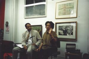 Louis Massiah and Toni Cade Bambara Hatch-Billops Collection Photograph: ©Michael Simmons, 1994