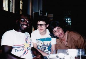 Marlon Riggs, Ruby Rich and Lourdes Portillo Flaherty Seminary, 1980s courtesy: ©Bia Vieira