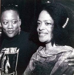 Tina Morton and Toni Cade Bambara photo credit: Carlton Jones