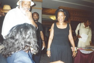Donald Stone and Toni Cade Bambara Nat'l Black Arts Festival, 1994 copyright: Michael Simmons