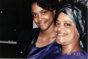 Toni Cade Bambara and her daughter  Karma Bene Bambara Smith courtesy: Karma Smith and The Spelman Archives