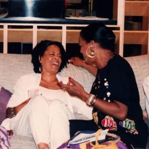 Toni Cade Bambara and Eleanor Traylor photograph: ©Susan J. Ross