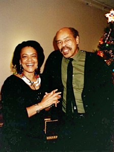 Toni Cade Bambara and Clyde Taylor photograph: ©Kay Bourne