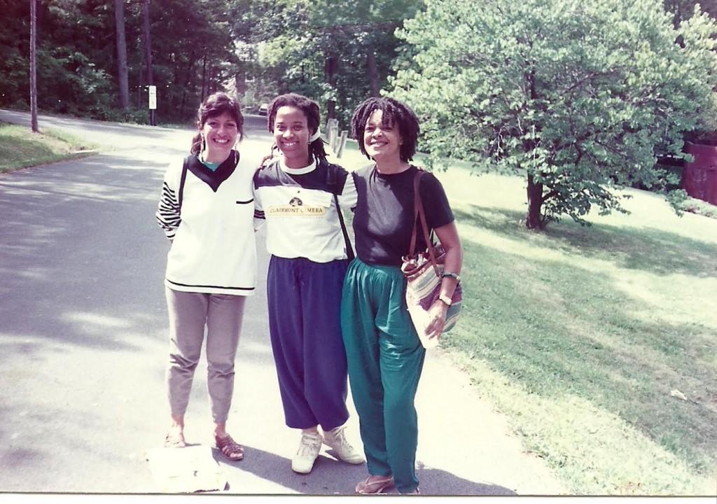 Bia Vieira, Zeinabu Davis, Toni Cade Bambara  Flaherty Seminar, circa late 80s courtesy: Zeinabu Davis